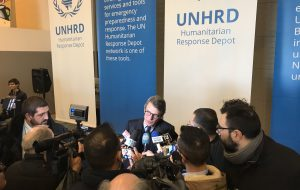 Sassoli visita la Base UNHRD e rimarca il ruolo di Brindisi al servizio della comunità umanitaria