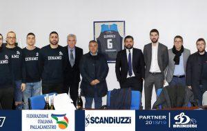La Dinamo fa visita al gold sponsor Scandiuzzi