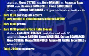 """""""I Giovani, la Forza dell'Italia"""" il Tour della Puglia di Cavedagna fa tappa a Brindisi e Provincia"""