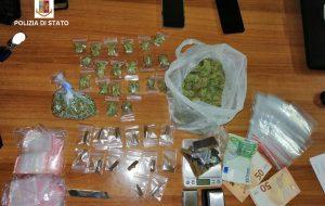 Hashish e marijuana: arrestati madre e figlio