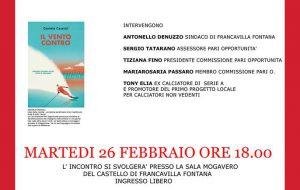 La Commissione Pari Opportunità ospita l'autore Daniele Cassioli