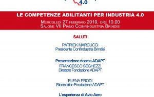 Confindustria Brindisi: le competenze abilitanti per l'industria 4.0
