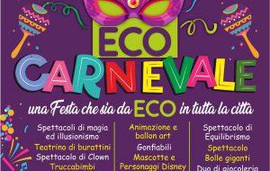 Dalle 16.00 a Brindisi si festeggia l'Eco Carnevale