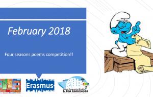 """Il concorso """"Poem Competition"""" apre la seconda annualità del progetto Erasmus dell'I.C. Sant'Elia-Commenda"""