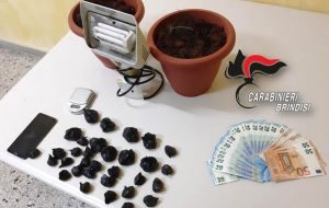 In casa aveva 60 grammi di marijuana: arrestato 24enne