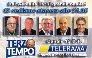 Terzo tempo in diretta Tv stasera su Telerama: ospiti Pinto, Cainazzo e Guadalupi