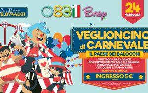 Domani il veglioncino di Carnevale allo 0831 Space di Brindisi