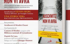 """Giovedì 14 nella Chiesa di San Paolo Eremita  Giuseppe Altamore e Guido Hassan presentano """"Auschwitz non vi avrà"""""""
