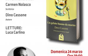 """Alla Caffetteria Letteraria Nervegna di Brindisi Dino Cassone presenta """"Un gelato buono da morire"""""""