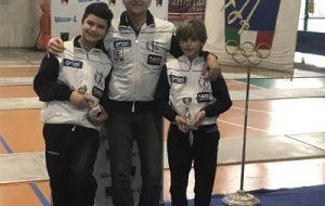 Brillanti risultati del Circolo della Scherma Brindisi ai campionati interregionali di Baronissi