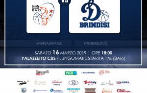 Preview Cus Bari-Dinamo Brindisi