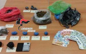 Beccato con 275 grammi di marijuana: arrestato 24enne