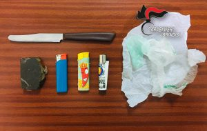 Nasconde 40 grammi di hashish negli slip: arrestata 31 enne