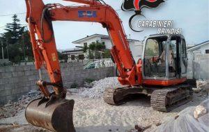 Ritrovati e restituiti al legittimo proprietario due escavatori cingolati del valore di €. 150.000,00 rubati in provincia di Lecce