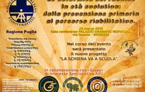 Le deformità del rachide in età evolutiva: a Brindisi 100 fisioterapisti da tutta la Puglia