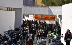 Le Harley Davidson si radunano a Sant'Elia: benedizione dei caschi presso la Parrocchia San Lorenzo da Brindisi