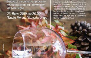 "Lunedì 25 a Tenuta Moreno ""Winemaker & Sommelier"""