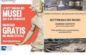 La settimana dei Musei al Parco Archeologico di Egnazia