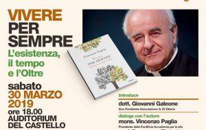 Sabato 30 a Mesagne si presenta il libro del vescovo Mons. Vincenzo Paglia