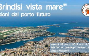 """BBC organizza l'incontro pubblico """"Brindisi vista mare"""". Visioni del porto futuro"""