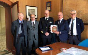 Il Comandante Canu ha incontrato il Presidente dell'International Propeller Clubs