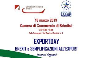 Lunedì 18 incontro su Brexit in Camera di Commercio
