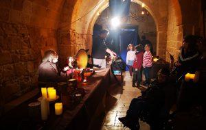 Hd Library, La Casa Del Turista è il set medievale dello spot immersivo. Tanti piccoli protagonisti per un'esperienza indimenticabile