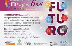 Programma Sistema ITS Puglia, la Fondazione Aerospazio Puglia promuove la terza tappa a Francavilla Fontana