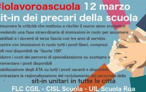 #iolavoroascuola: domani a Brindisi sit-in dei lavoratori precari della scuola