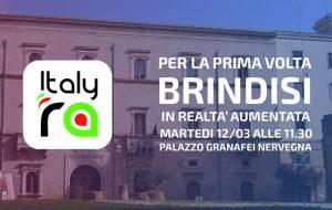 La realtà aumentata valorizza i monumenti di Brindisi: martedì la presentazione del progetto ItalyRa