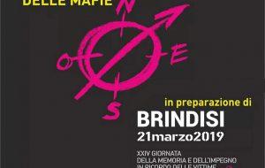 A Brindisi la XXIV Giornata della Memoria e dell'Impegno in ricordo delle vittime innocenti delle mafie