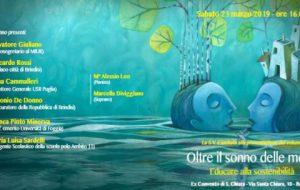 """l'ITT """"Giorgi"""" di Brindisi presenta il volume """"Oltre il sonno delle menti – Educare alla Sostenibilità"""""""