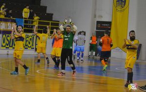 L'Olympique Ostuni cade a Barletta, solo playoff per i gialloblu
