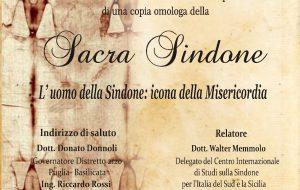 L'Uomo  della Sindone : Icona della Misericordia: conferenza del Rotary alla Chiesa di San Paolo Eremita