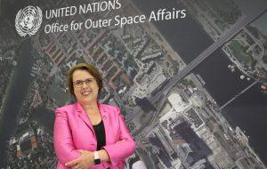 Simonetta Di Pippo, Direttrice dell'UNOOSA, visita la Base UNHRD di Brindisi