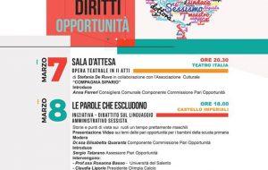 Genere, diritti, opportunità: tre giorni di riflessioni a Francavilla Fontana