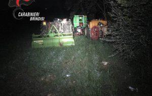 Ritrovati e restituiti al legittimo proprietario tre trattori e un muletto asportati nella notte dell'8 marzo scorso