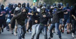 11 Daspo per gli scontri ultras dopo Fasano-Altamura