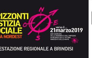 A Brindisi il 21 Marzo appuntamento con la XXIV Giornata della Memoria e dell'Impegno in ricordo delle vittime innocenti delle mafie