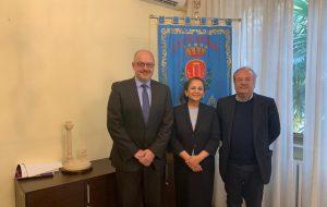 Il sindaco Rossi ha incontrato Atefeh Riaz dell'Onu