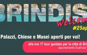 25aprile: Palazzi, Chiese e Musei aperti a Brindisi. Luoghi d'arte ed orari