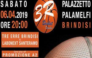 Sabato la Tre Erre Brindisi si gioca l'accesso alla serie A2