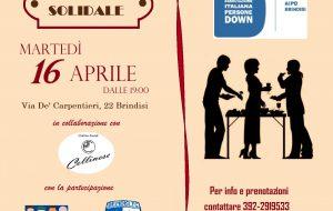 Martedì 16 aperitivo solidale AIDP