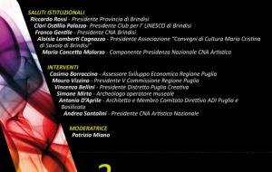 Artigianato, Patrimonio da tutelare: convegno a Brindisi