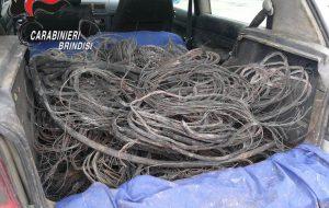 Fermati con 128 Kg di cavi di rame rubati alla Stazione: arrestati due pregiudicati