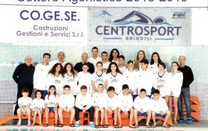 Pioggia di medaglie per la Polisportiva Centrosport nelle finali di nuoto