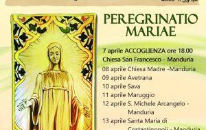 Peregrinatio Maria per l'Azione Cattolica diocesana di Oria