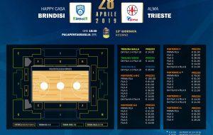 Happy Casa Brindisi-Trieste: biglietti in vendita a partire da €11