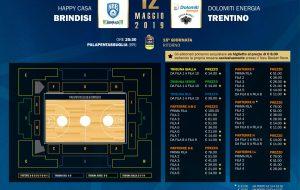 Tickets online per Brindisi-Trento: promo abbonati a €8 per entrare nelle prime 8