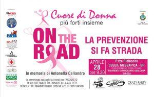 A Ceglie Messapica camminata in rosa per raccogliere fondi e sensibilizzare sui temi della prevenzione